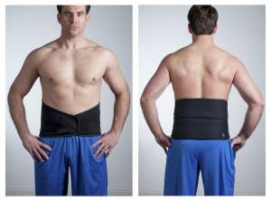 Recovery Wrap For Hot & Cold Therapy Front & Back View