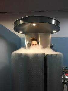 Spand-Ice tests Cryotherapy for Pain Relief