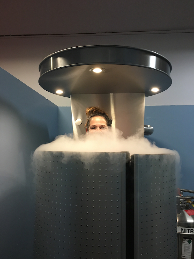 Spand-Ice Founder tests Cryotherapy (Ice Therapy) for Back Pain Relief