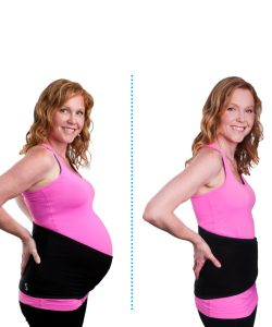 Spand-Ice Maternity + Postpartum Wrap for Back Pain and Belly Support