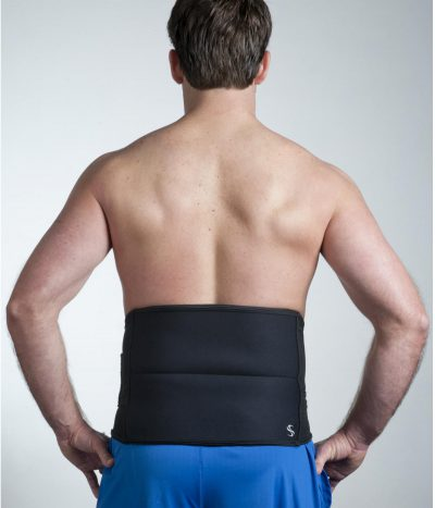 Ice and Heat Therapy Back Pain Relief, Hip Pain and Support Wrap by Spand-Ice